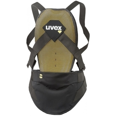 chránič páteře UVEX BACK PURE M, dark grey (S44902
