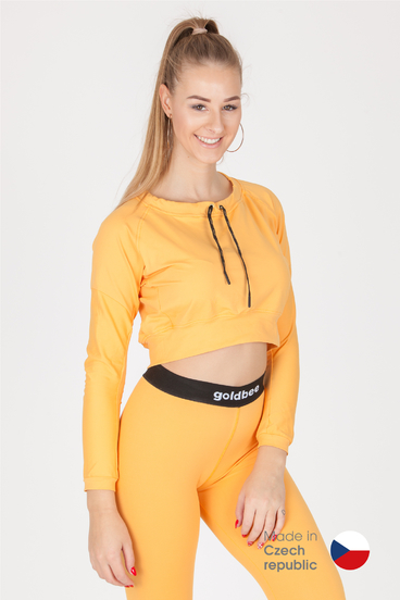 GoldBee Crop-Top BeCool Sweet Apricot