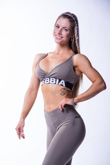 Nebbia 620 Open Back Bra Mocha