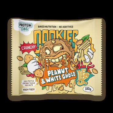 LifeLike Cookies Peanut And White Chocolate - 100g
