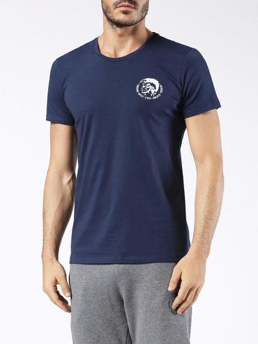 Diesel Tričko Pánske Modré S Logom