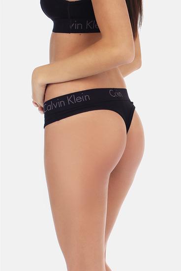 Calvin Klein Thong Body Čierne