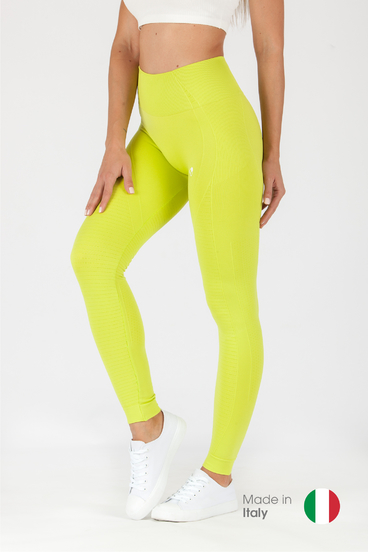 GoldBee Legíny BeSeamless Lime