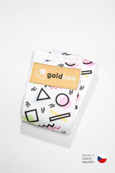 GoldBee Posilňovacia guma BeBooty Geometrická