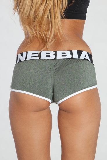 Nebbia Mini Kraťásky 266 Khaki
