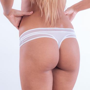 Calvin Klein Tangá Naked Touch Biele