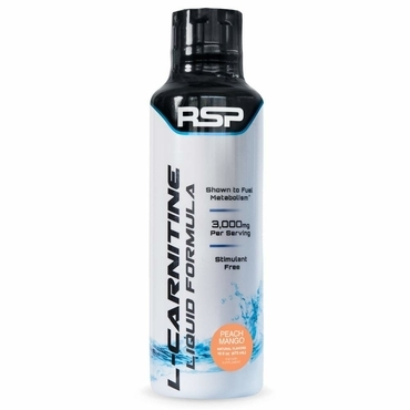 RSP Liquid  L-Carnitine 1500mg  - Peach Mango