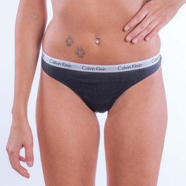 Calvin Klein 3Pack Tangá Čierne