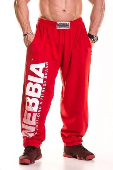 Nebbia HardCore Fitness Tepláky 310 Červené