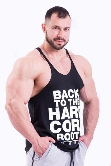 Nebbia HardCore Tielko 399 Čierné