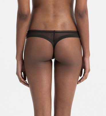 Calvin Klein Tangá Sculpted Black