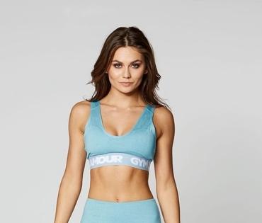 Podprsenka Gym Glamour Azure Basic