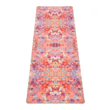 Yoga Design Lab 1.5mm Travel Yoga Mat - Kaleidoscope
