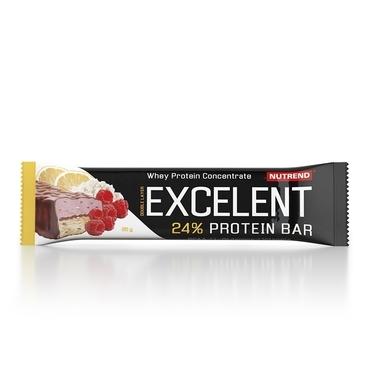 Nutrend Excelent Protein Bar Double Citrónový Tvaroh A Maliny S Brusnicami 40g