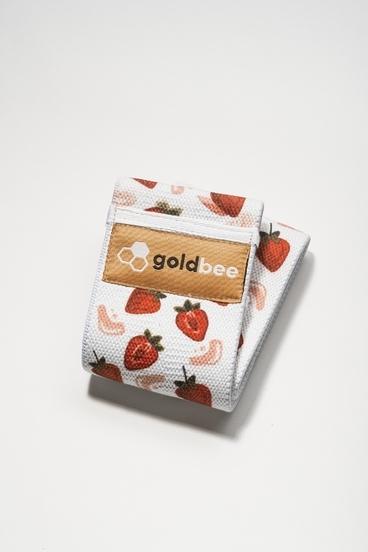 GoldBee Bavlněná Odporová Guma - Strawberry