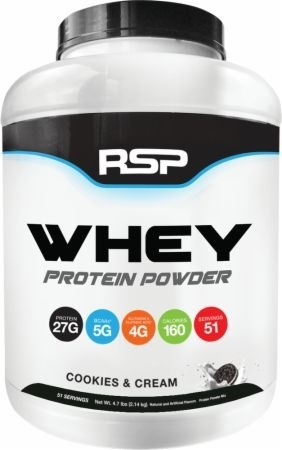 RSP Whey 4LB Cookies N Cream