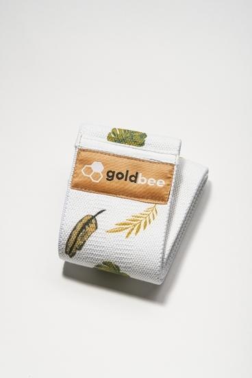 GoldBee Textilná Odporová Guma Leaves