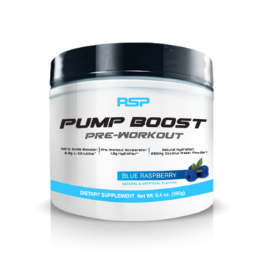 RSP Pump Boost Blue RaspBerry