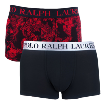 Ralph Lauren 2Pack Boxerky Red Dragon/Black