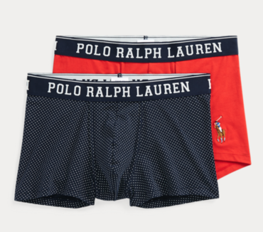 Ralph Lauren 2Pack Boxerky Navy/Red