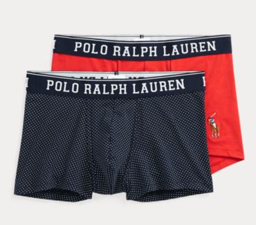 Ralph Lauren 2Pack Boxerky Navy/Red