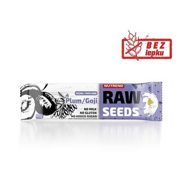 Nutrend Tyčinka Raw Seed Švestka&Goji