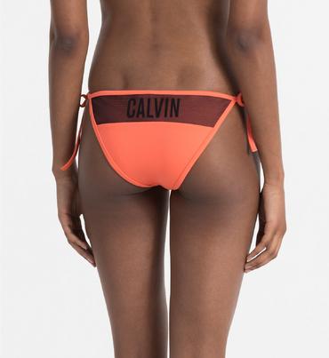 Calvin Klein Plavky Bikini Hot Coral Spodní Diel