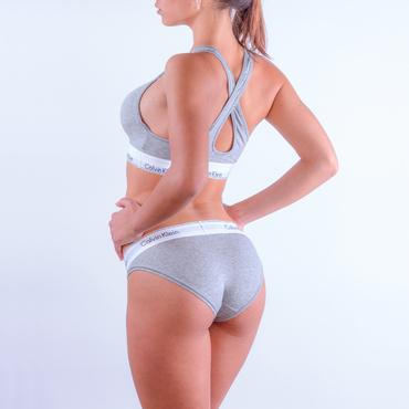 Calvin Klein Bikini - Modern Cotton Grey