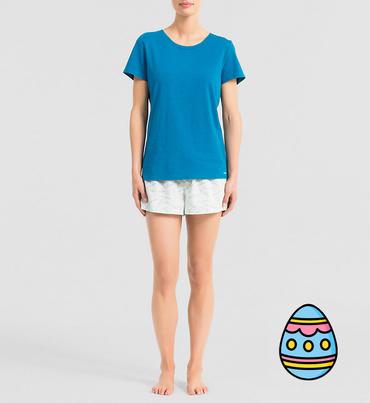 Calvin Klein Dámske Pyžamo Modré, L