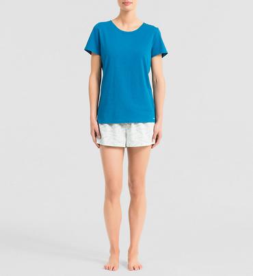 Calvin Klein Dámske Pyžamo Modré