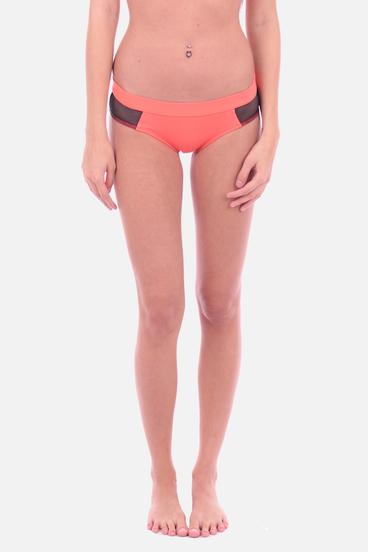 Calvin Klein Plavky Hipster Hot Coral Spodni Diel