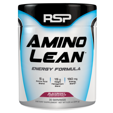 RSP AminoLean Energy Formula - Blackberry Pomegranate 30 dávek