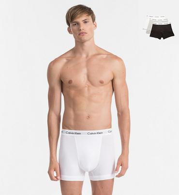 Calvin Klein 3Pack Boxerky Black, Grey&White