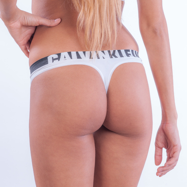 Calvin Klein Tangá Longline White