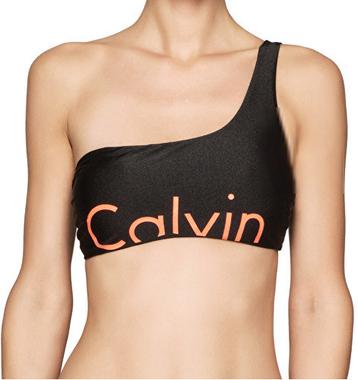 Calvin Klein Plavky One Shoulder RP Vrchní Diel