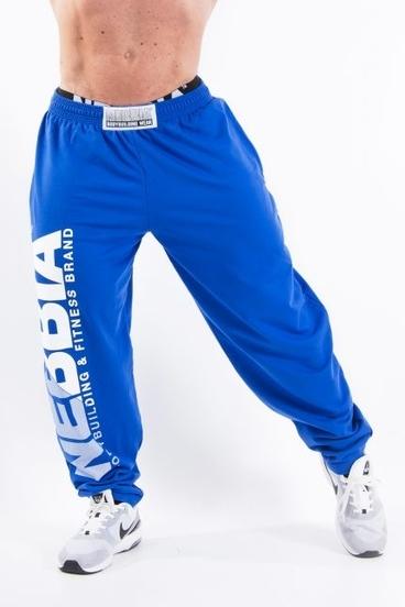 Nebbia HardCore Fitness Tepláky 310 Modré
