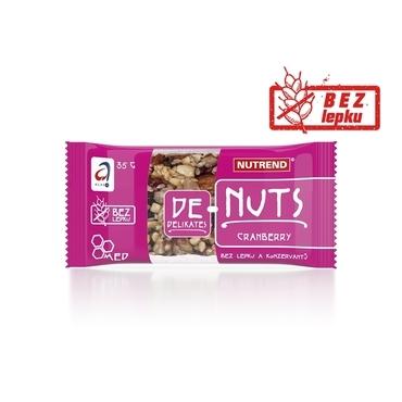 Nutrend DE - Nuts Brusnica