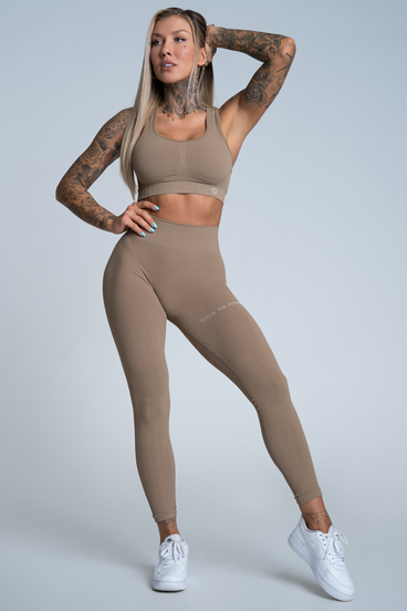 Gym Glamour Legíny Push Up Nude