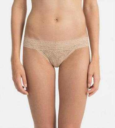 Calvin Klein Čipkované Tangá Tělové