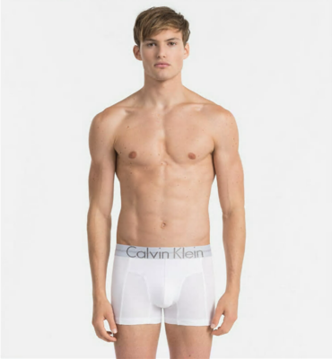 Calvin Klein Boxerky Focused Fit Bielé