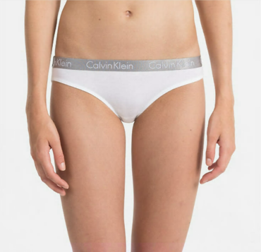 Calvin Klein Nohavičky Radiant Bielé