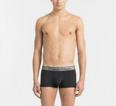 Calvin Klein Boxerky Customized Stretch Čierné LR
