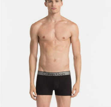 Calvin Klein Boxerky Customized Stretch Čierné