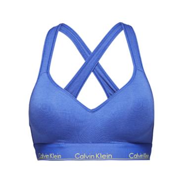 Calvin Klein Podprsenka Bralette Lift Blue