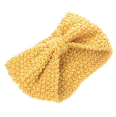 Čelenka Do Vlasov Zimná Žltá