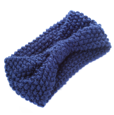 Čelenka Do Vlasov Zimná Tmavo Modrá