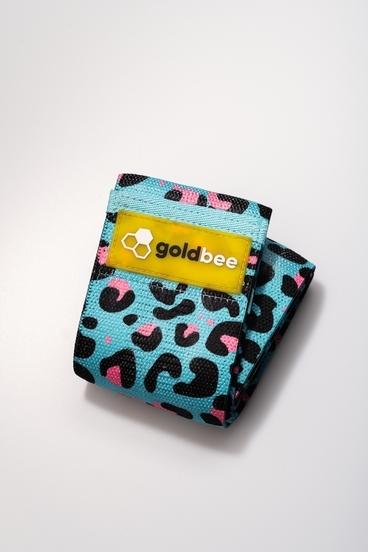 GoldBee Textilná Odporová Guma - Modro Ružova