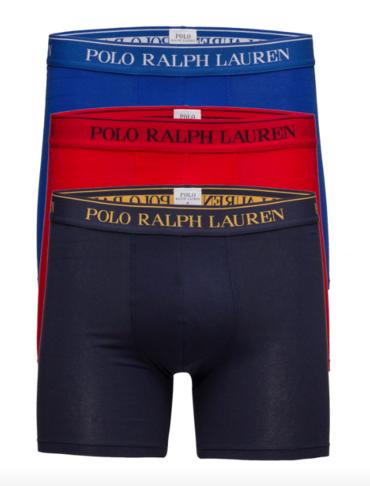 Ralph Lauren 3Pack Boxerky Navy&Blue&Red
