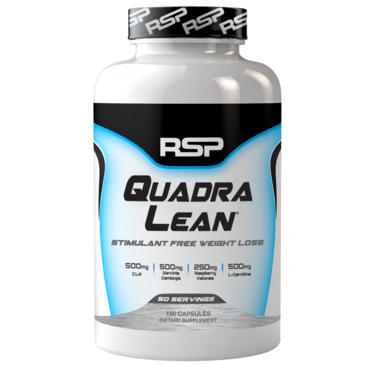 RSP Quadra Lean Stimulant Free Weight Loss - 150 Kapslí
