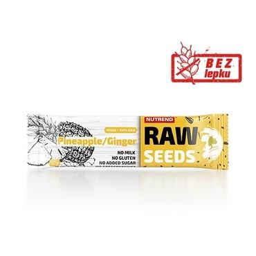 Nutrend Tyčinka Raw Seed Ananas&Zázvor